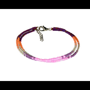 Sherpa Mayalu Three Wire Bracelet in Anaar