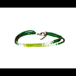 Sherpa Mayalu Three Wire Bracelet in Gokarna Green