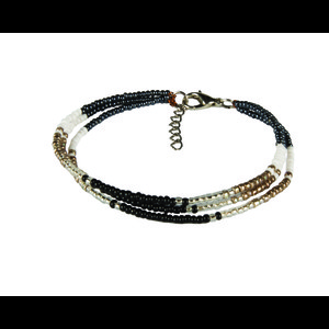Sherpa Mayalu Three Wire Bracelet in Kharani