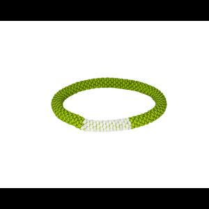 Mayalu Block Roll On Bracelet Gokarna Green