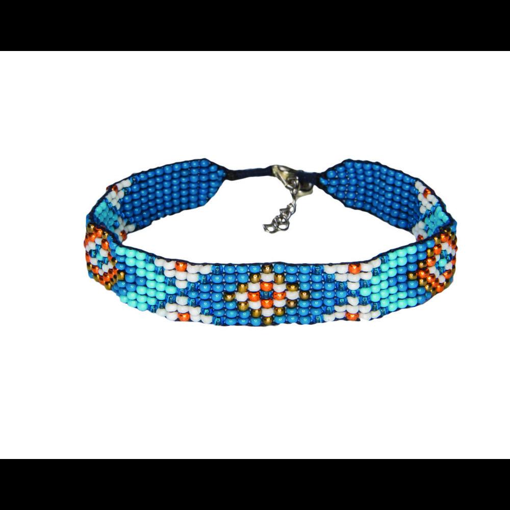 Sherpa Mayalu Bhutan Bracelet Blue Tara