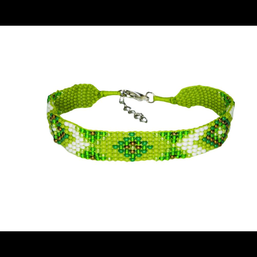 Sherpa Mayalu Bhutan Bracelet Gokarna Green