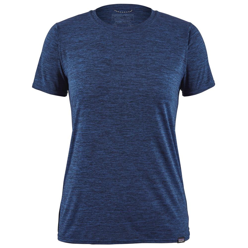 Patagonia Cap Cool Daily Shirt Womens Viking Blue/Navy Blue