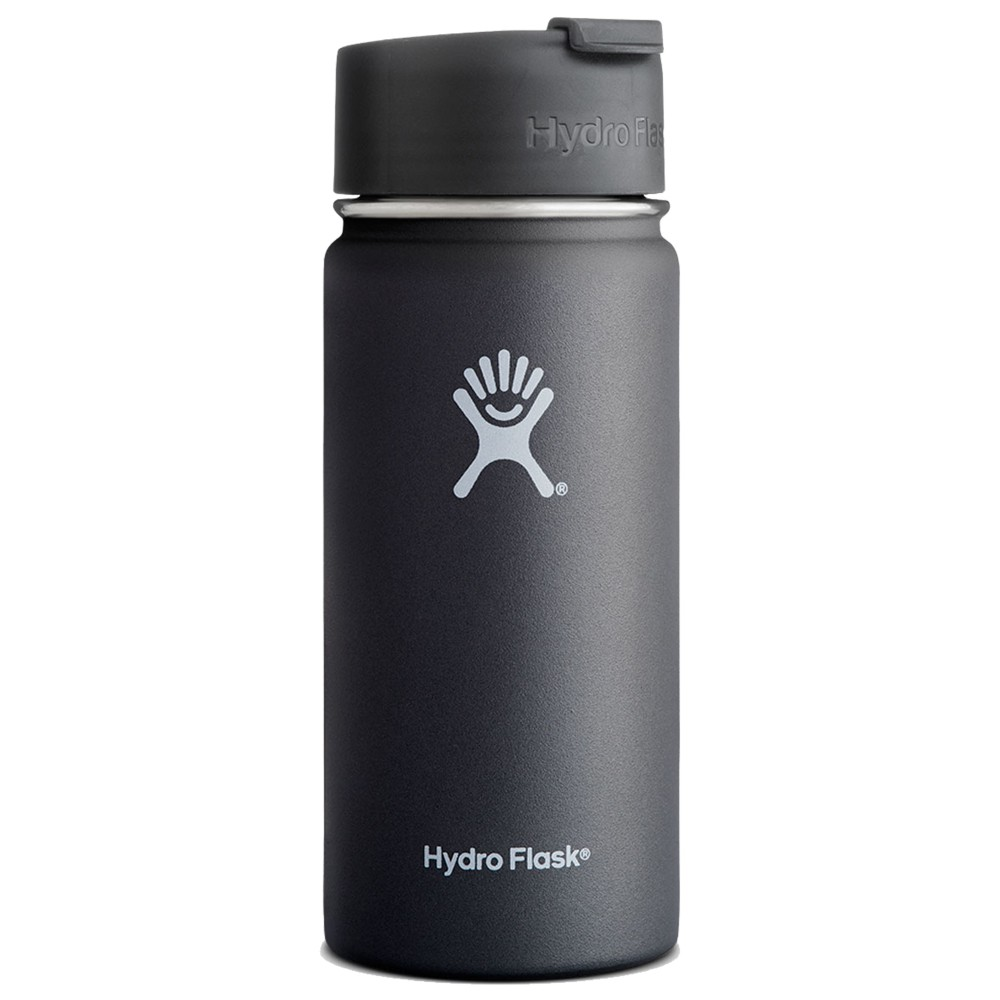Hydro Flask 16oz Wide Mouth Black