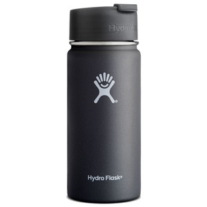 Hydro Flask 16oz Wide Mouth in Black