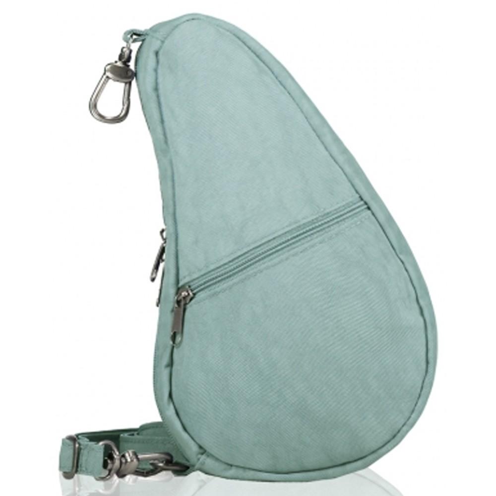 Healthy Back Bag Textured Nylon Baglett Aqua