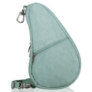 Healthy Back Bag Textured Nylon Baglett in Aqua