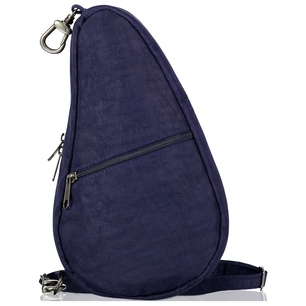 Healthy Back Bag Textured Nylon Baglett Blue Night