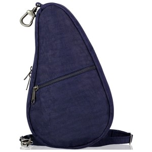 Healthy Back Bag Textured Nylon Baglett in Blue Night