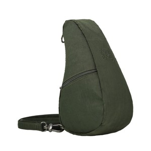 Healthy Back Bag Textured Nylon Baglett in Deep Forest