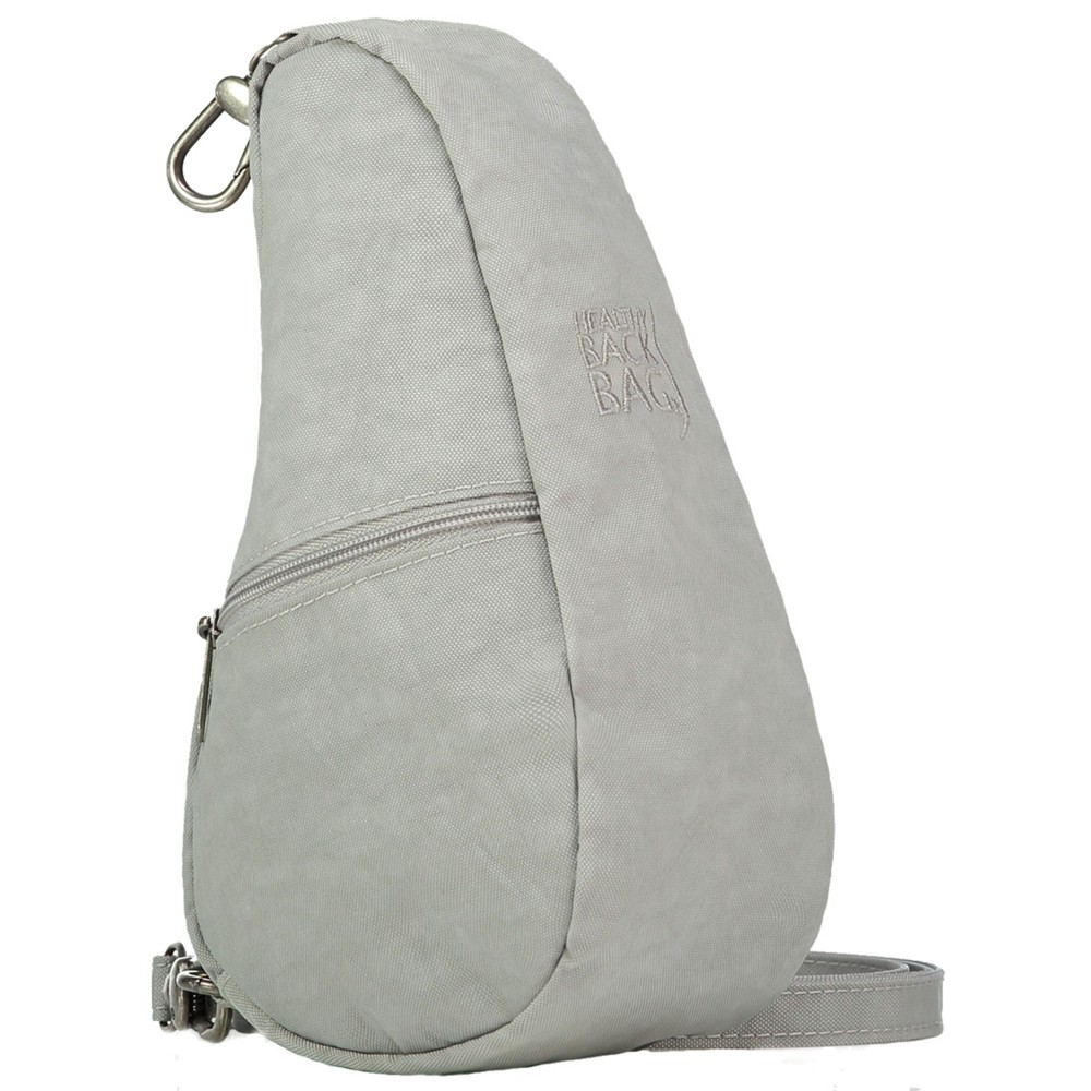 Healthy Back Bag Textured Nylon Baglett Frost Grey