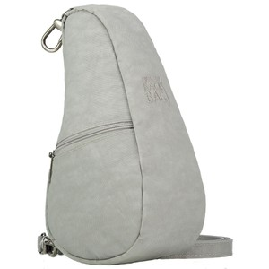 Healthy Back Bag Textured Nylon Baglett in Frost Grey