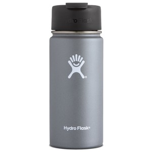 Hydro Flask 16oz Wide Mouth in Graphite