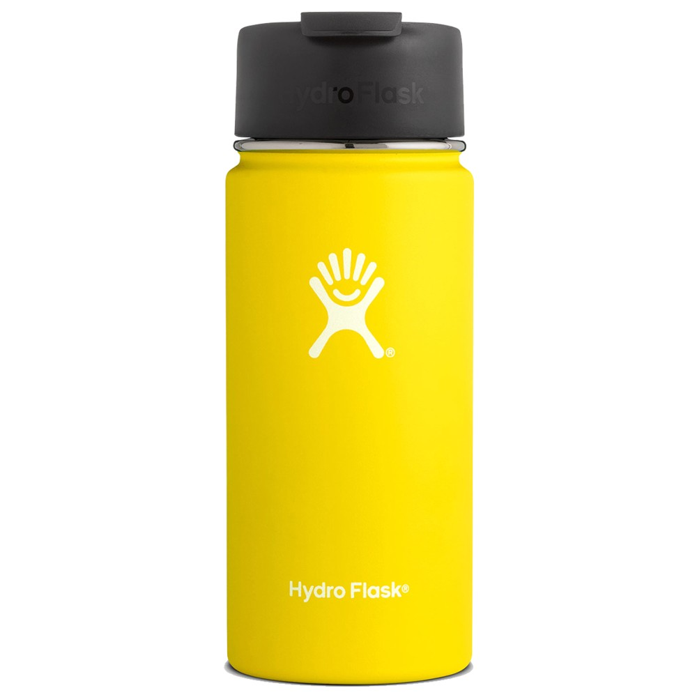 Hydro Flask 16oz Wide Mouth Lemon