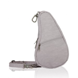Healthy Back Bag Textured Nylon Baglett in Grey Fox