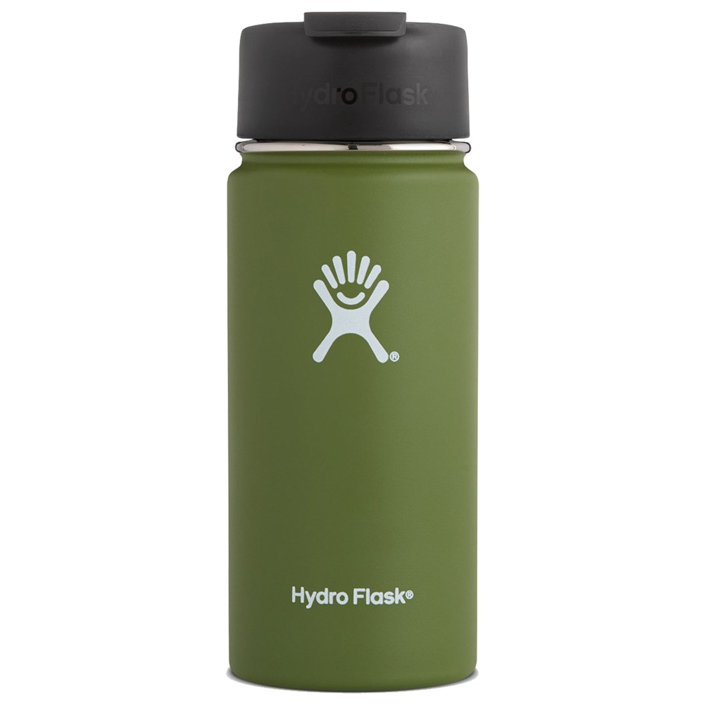 Hydro Flask 16oz Wide Mouth Olive