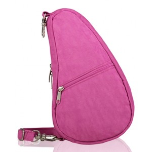 Healthy Back Bag Textured Nylon Baglett in Hibiscus