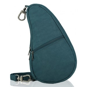 Healthy Back Bag Textured Nylon Baglett in Lagoon