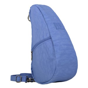 Healthy Back Bag Textured Nylon Baglett in Periwinkle