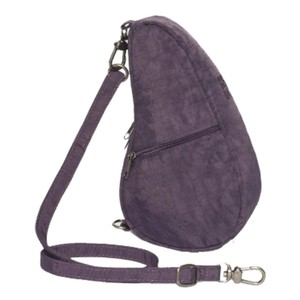 Healthy Back Bag Textured Nylon Baglett in Plum